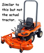 Similar to the tractor stolen at Crammond.