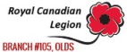 Click here to visit the Royal Canadian Legion Olds website.